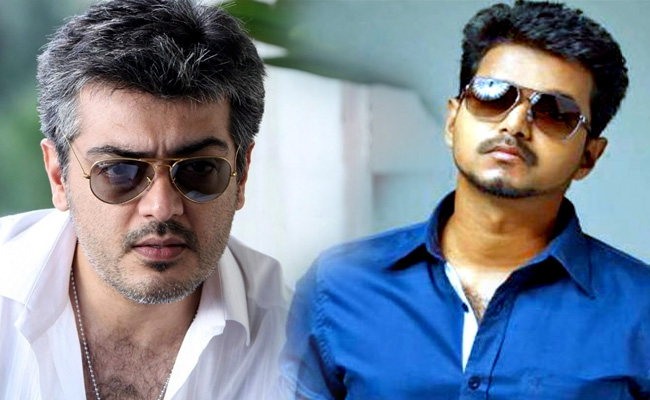 Image result for ajith and vijay