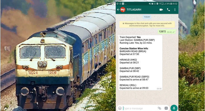 train and whatsapp க்கான பட முடிவு