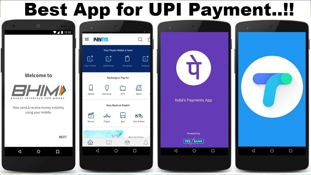 Google Pay, PayTM, PhonePe க்கான பட முடிவு