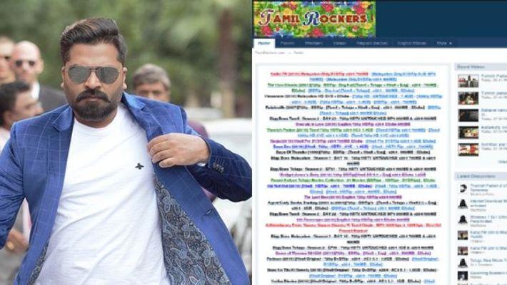 Simbu film released in Tamilirockers in HD Quality
