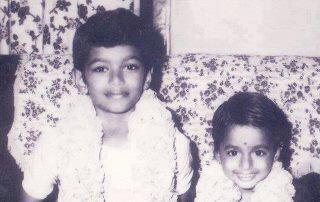 vijay with sister vidhya க்கான பட முடிவு