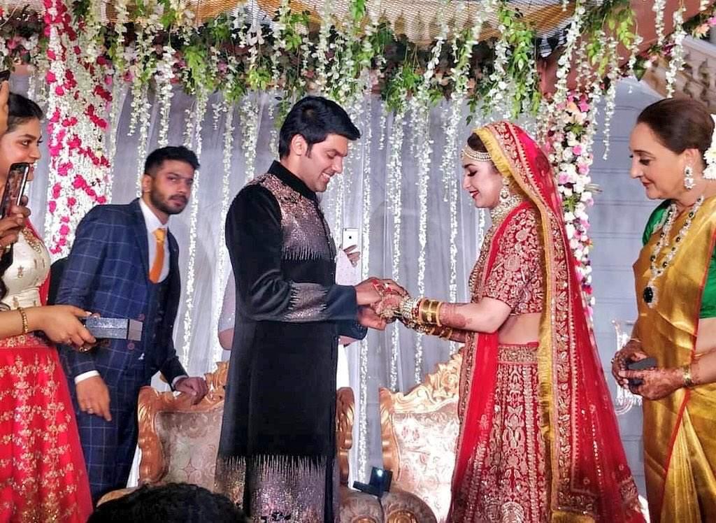 aarya sayeesha mariage க்கான பட முடிவு