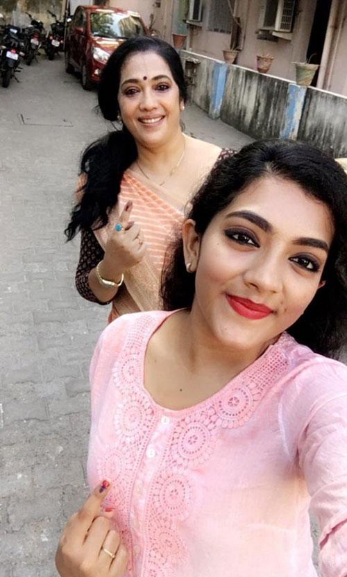 Rekha and Daughter Anusha