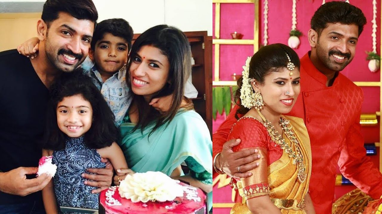 Image result for arun vijay family photo