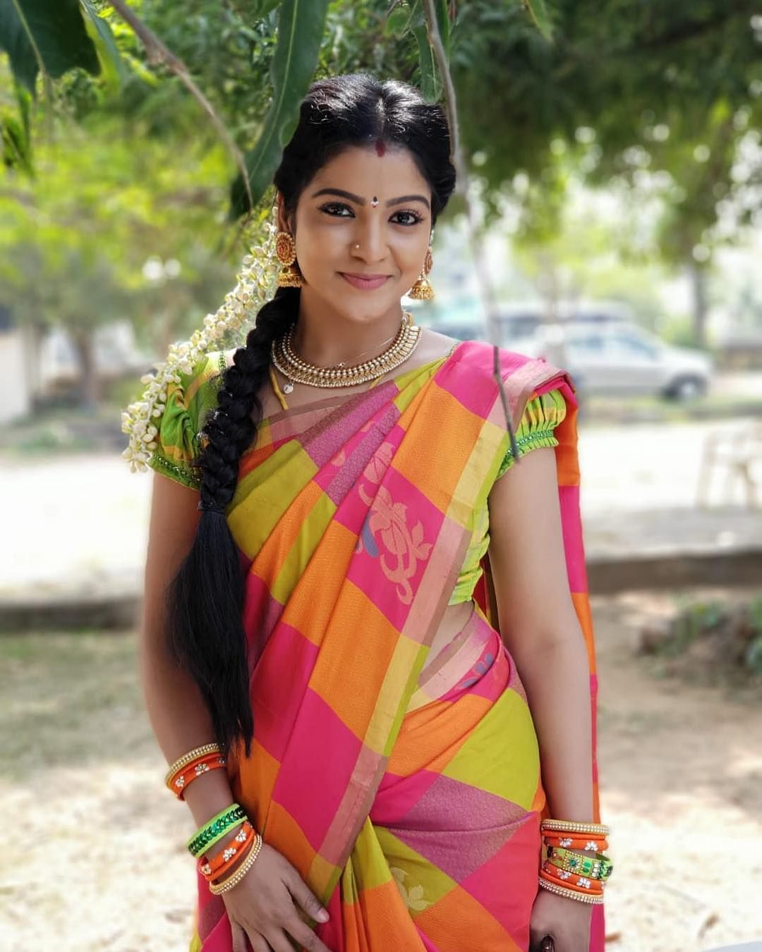 Image result for pandian store actress chitra