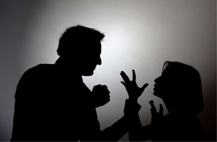 The Wife Did Not Cook, The Angry Husband Beat Her - पति ने ...