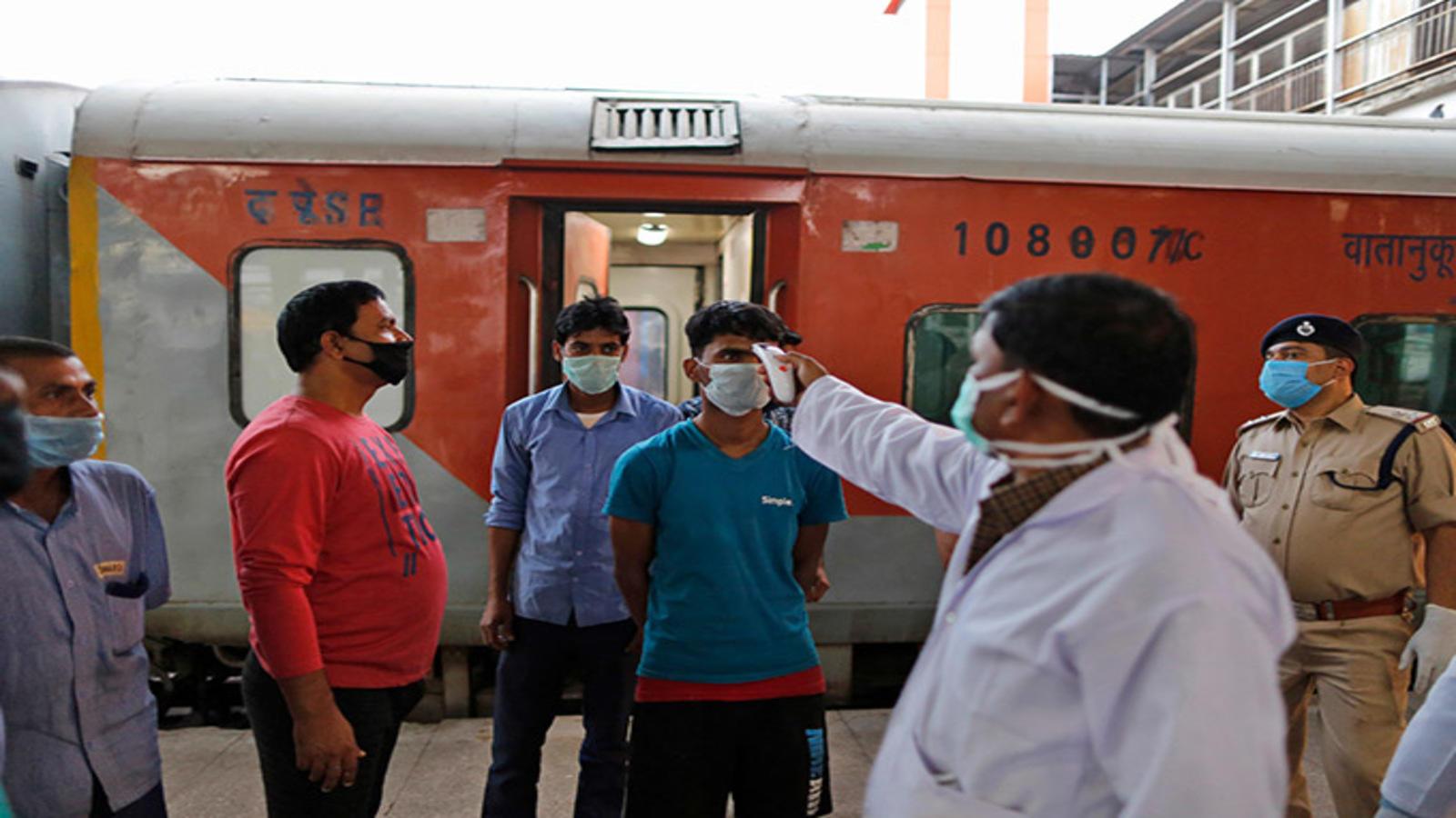 Indian Railways services suspended | India in Lockdown-2: Railways ...