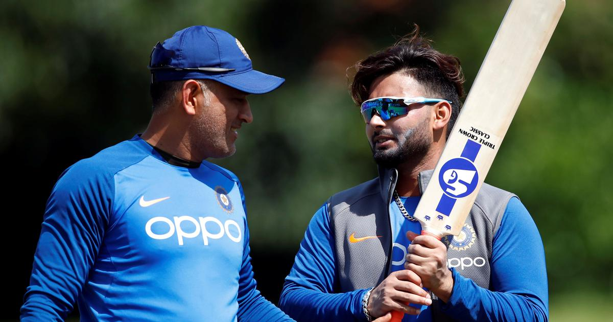 Rishabh Pant explains why MS Dhoni never offers complete solutions ...