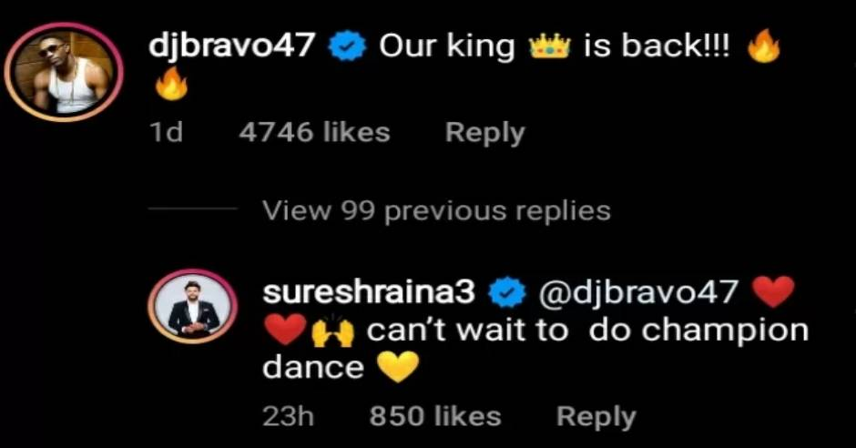 Our King is back, Bravo welcomes Suresh Raina to CSK ahead of IPL 2021