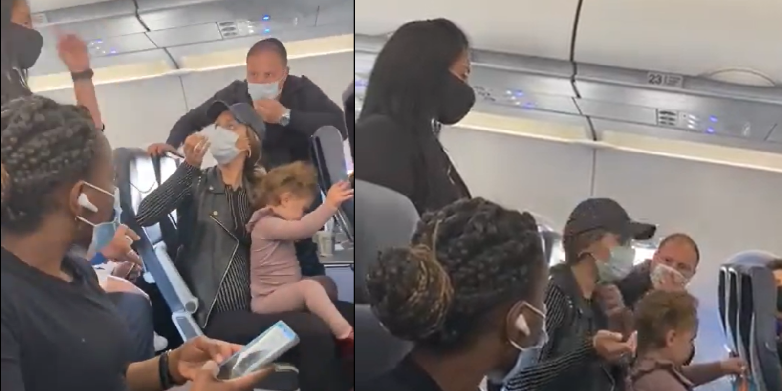 Couple who were being forced to leave the Spirit Airlines flight