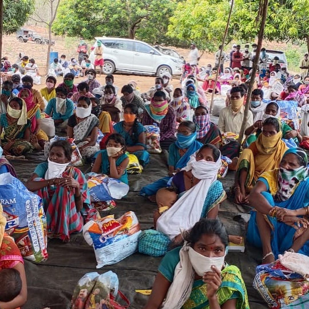 Rana Daggubati comes to the rescue of 400 tribal families during the  Covid-19 pandemic Photos - FilmiBeat