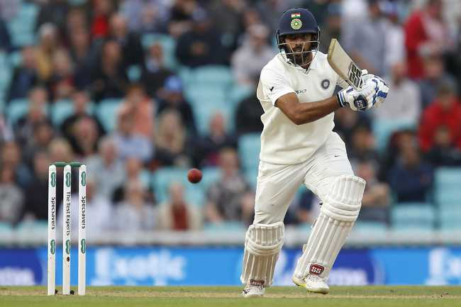 Hanuma Vihari went on to register a half-century in his maiden Test innings