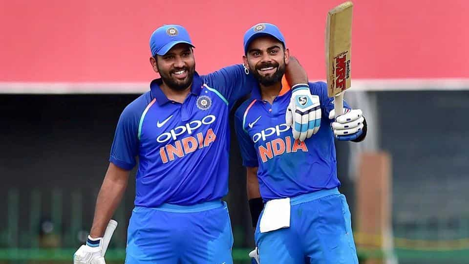 Image result for rohit and virat