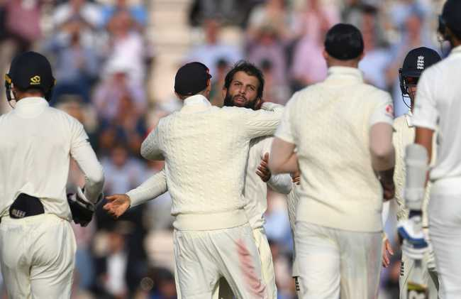 Moeen Ali caused havoc in the second session, running through India's middle and lower-middle order. He ended up with five wickets.