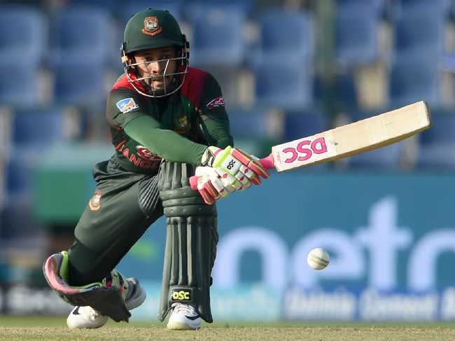 Mushfiqur Rahim then combined with Mohammad Mithun to slow things down and bring Bangladesh back into the game with a 144-run stand.