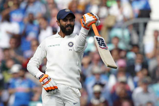 Ravindra Jadeja, who registered his ninth Test fifty, launched a counter-attack that helped India finish with 292.