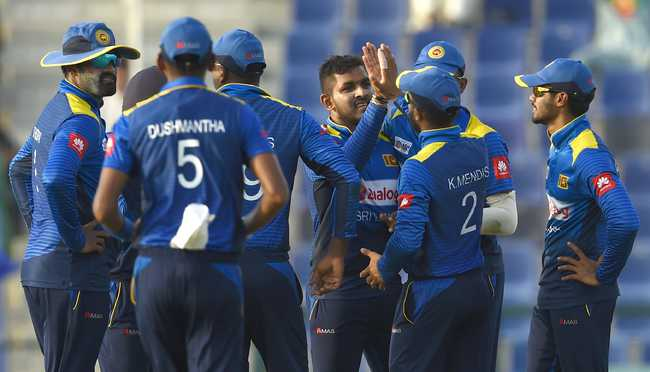 Sri Lanka fought back by removing the openers and then sent back Asghar Afghan as well.