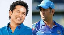 Sachin tells aboit dhoni position in semifinal