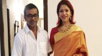 Director selvaragan wife and son photo