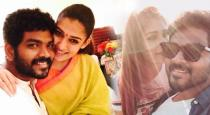 Nayanthara and Vignesh sivan new romantic picture
