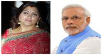 Kushboo tweeted india pm learn from pak pm