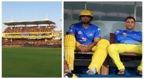 Chepakam with csk fans for coaching