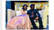 madern dress -senthil rajalakshmi