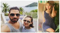 Yuvraj ex gf commented on wifes post