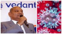 Vedanta chief commits 100 cr for corono