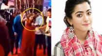 Rashmika Mandanna kissed by fan in public video