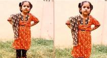 VJ Ramya Childhood photo goes viral on Internet