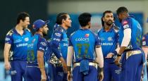 Mumbai Indians send out 7 players from team
