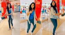 Vijay tv actress saranya dance in mall