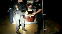 Police found drugs in coffin at brazil