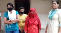 Three young girls arrested in Haryana who take video of a old man