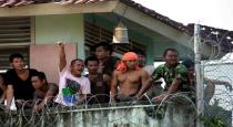 prisoners escaped from Indonesia jail