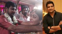 Comedy actor sathish marriage photos goes viral
