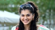 Actress tapsee latest Instagram photos