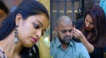 Thaadi balaji shaved his head to save janani iyer from eviction