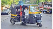 Auto driver donate food for poor people