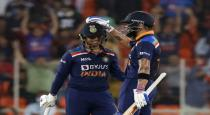 Ishan Kishan interview with Sahal after his first T20 match