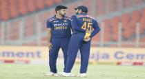 Virat handover captaincy to Rohith during 4th T20