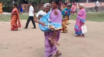 Daughter in law helped mother in law to vote