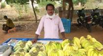 Teacher became as banana seller in lockdown