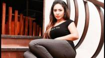 Actress sri reddy opened new actor name in his list