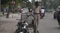 Panjab police stolen egg road side viral video