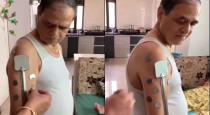 Maharashtra man got magnet power after taking corona vaccine