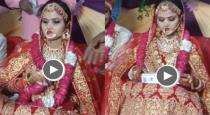 Bride throw gift on marriage stage viral video