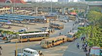 bus transport started in chennai