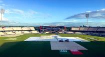 will rain disturb today india pakistan match